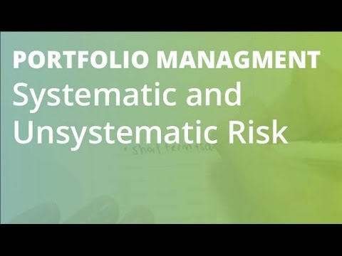 what is the difference between systematic and unsystematic risk