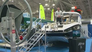 Minnesota-Made Yacht Is Crown Jewel Of Mpls. Boat Show
