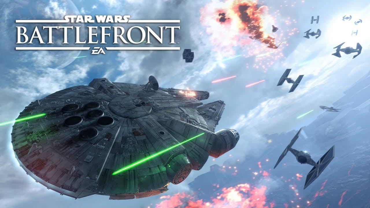 (EVA GAMER) [Talk Talk GOS399] Star war Battlefront โหมด Fighter Squadron