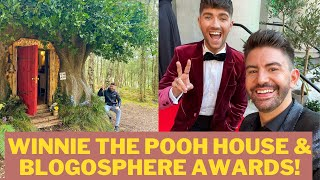 WINNIE THE POOH HOUSE AIRBNB, HOSTING BLOGOSPHERE AWARDS 2021, 1 YEAR OF PACKED LUNCH! MR CARRINGTON