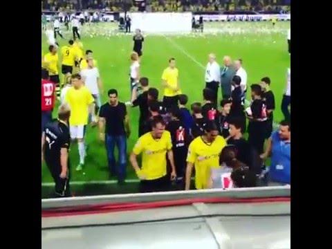 Генрих Мхитарян перед матчем против ПАОКа