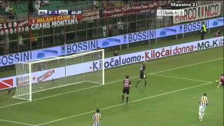 Highlights AC Milan 2-1 Juventus - 21/08/2011