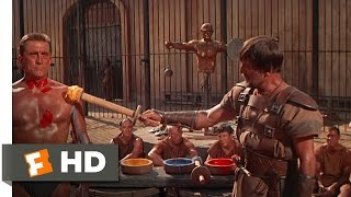Spartacus (3/10) Movie CLIP - Gladiator Training (1960) HD