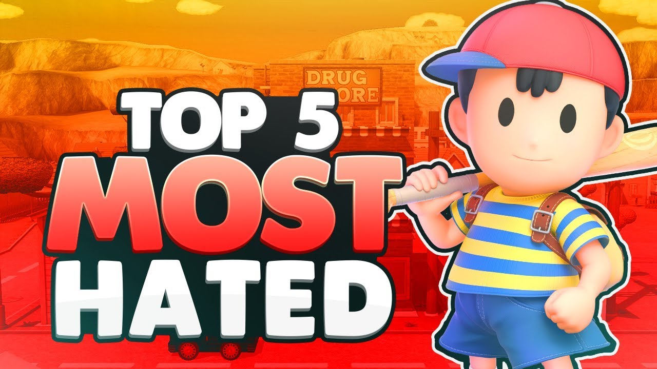 Top 5 Most Hated Fighters   Super Smash Bros. Ultimate thumbnail