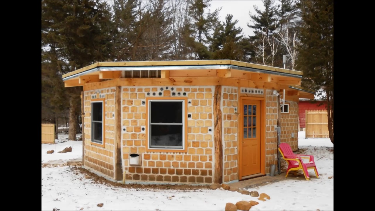 Cordwood building with rob roy youtube - Building a new home ...