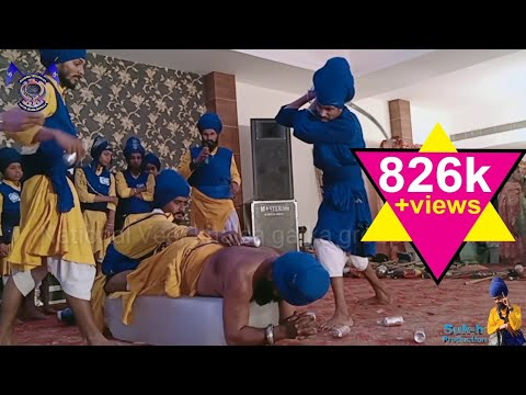 National Veer Khalsa gatka group barnala || Sikh martial art (Gatka)
