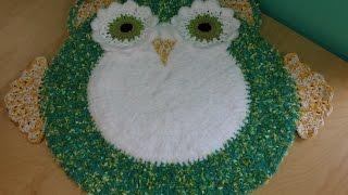 Crocher Owl Area Rug For Baby's Room Part #1