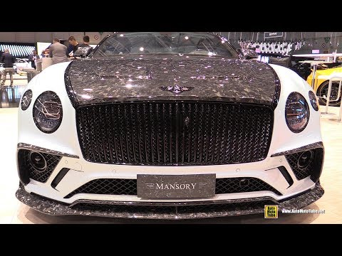 2019 Bentley Continental GT Geneva Edition By Mansory - Exterior And Interior Walkaround