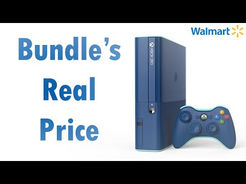 Walmart's Exclusive Blue Xbox 360: How much does it really cost?