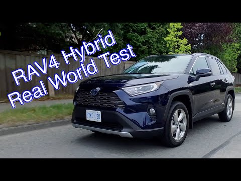 Toyota RAV4 Hybrid Review //  The Fuel Savings Are Real