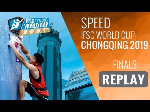 IFSC Climbing World Cup Chongqing 2019 - Speed Finals