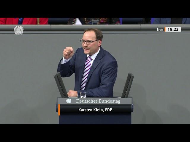 Karsten Klein, Bundestagsrede zum Haushalt Bundesministerium für Wirtschaft und Technologie 26.11.19