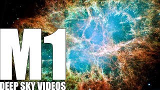 M1 - Crab Nebula - Deep Sky Videos