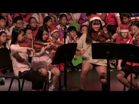 Grade 5 holiday assembly,  Lakeside campus | Canadian International School Singapore