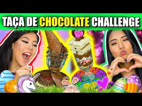 TAÇA DE CHOCOLATE CHALLENGE (O MELHOR DESAFIO DE PÁSCOA) | Blog Das Irmãs