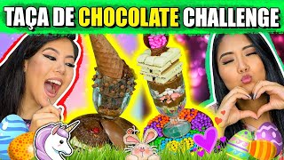 TAÇA DE CHOCOLATE CHALLENGE (O MELHOR DESAFIO DE PÁSCOA) | Blog das irmãs thumbnail