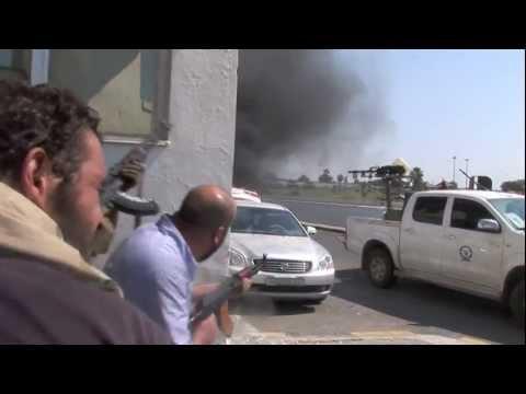 La prise de Tripoli ( Libye)