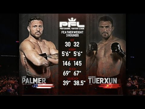 Lance Palmer Vs Jumabieke Tuerxun Full Fight | PFL 4 2018