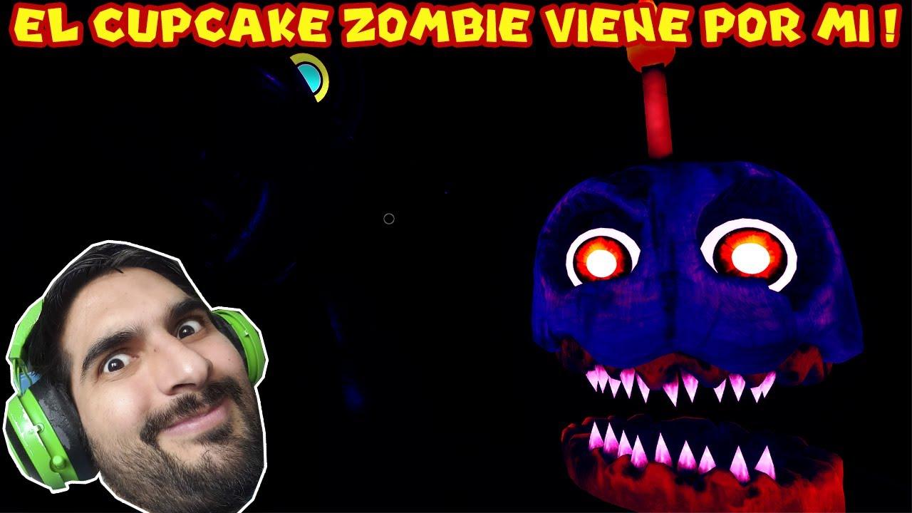 EL CUPCAKE ZOMBIE VIENE POR MI !! - Five Night's at Freddy's 7 con Pepe el Mago (#7)