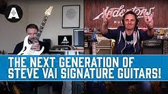 NEW Ibanez PIA Guitars - The Next Generation of Steve Vai Signatures!