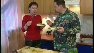 Мидии с ананасом