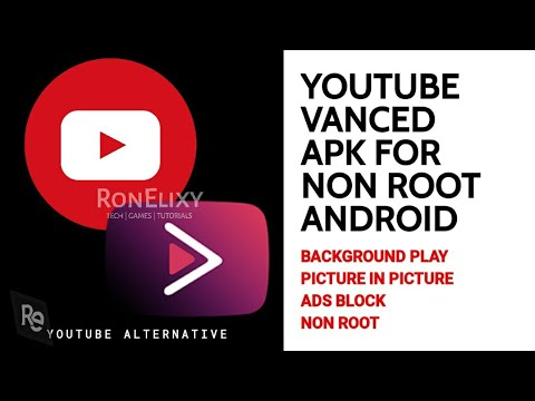 HOW TO INSTALL VANCED WITH MICROG FOR NON ROOT ANDROID | PART 1 | RonElixy