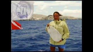 Karol Meyer   Recorde Mundial na Skandalopetra   Lindos Rodes Grécia 26 junho 2010
