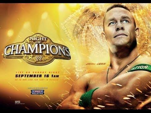 Resultados Night of champions 2012 (Loquendo)