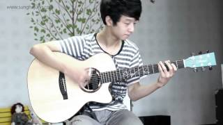 Guns N Roses) November Rain   Sungha Jung Acoustic Tabs Guitar Pro 6