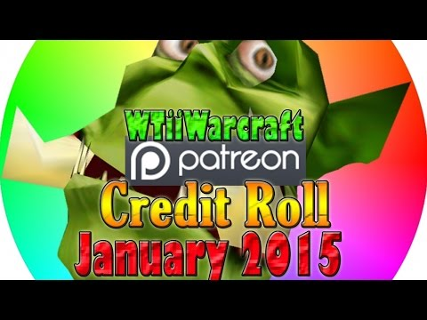 Warcraft 3 - Patron Credit Roll | January 2015