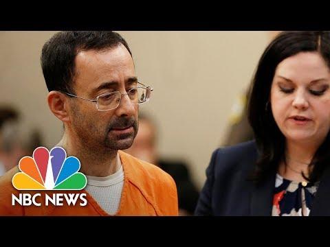Former USA Olympics Doctor Larry Nassar: 'I'm So Horribly Sorry' For Abusing Girls   NBC News