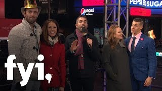 New Years Eve with MAFS' Jamie & Doug and Cortney & Jason - Kiss Bang Love (LIVE) | FYI