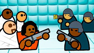 I Built an Army of the Criminally Insane to Escape the Prison Architect Psych Ward