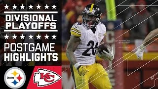 Steelers vs. Chiefs | NFL Divisional Game Highlights