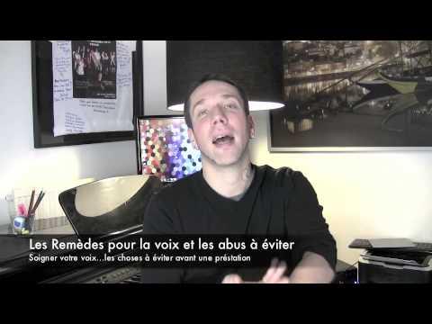 cours de chant : S.O.S VOIX Remèdes et les abus à éviter pour le chanteur