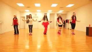 Zumba - Jingle Bells (Bass) covered by WinnipegZumba Girls