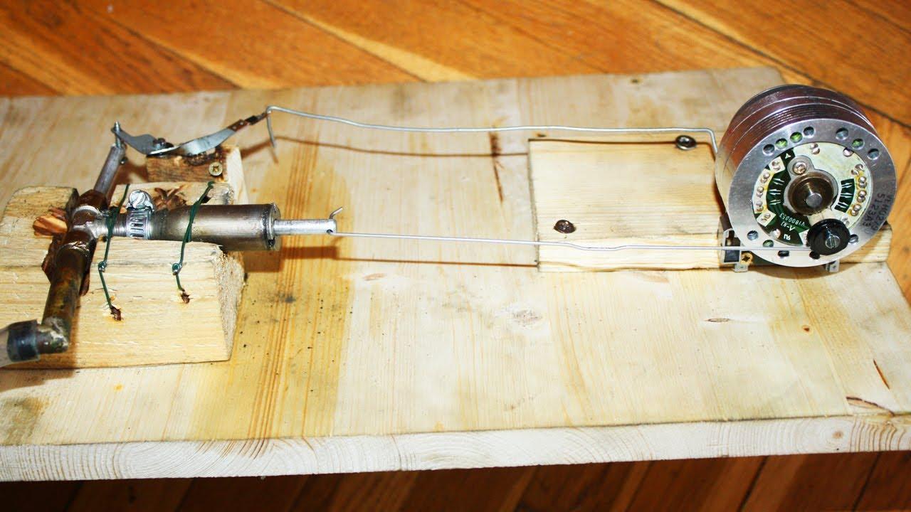 Come costruire un motore a vapore steam engine youtube - Tornio per legno fatto in casa ...