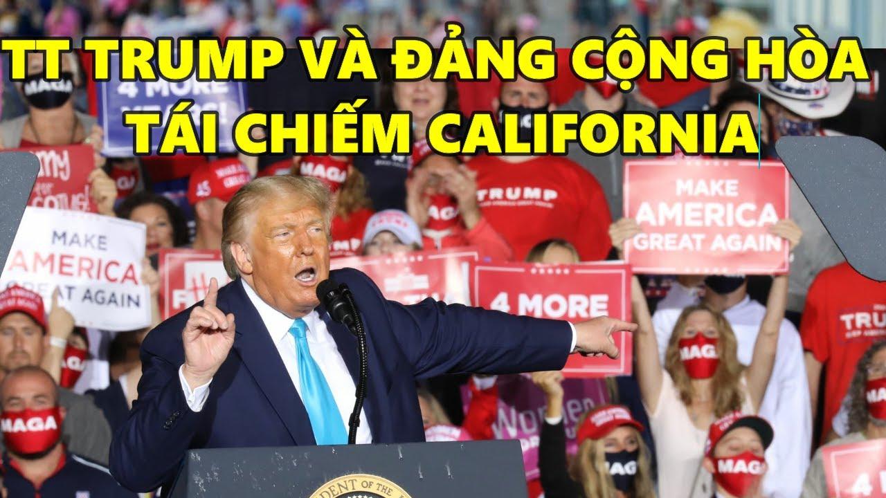 TIN VUI ẬP ĐẾN CHUỖI CHIẾN THẮNG CỦA TT DONAL TRUMP VÀ ĐẢNG CỘNG HÒA TÁI CHIẾM CALIFORNIA RỒI!