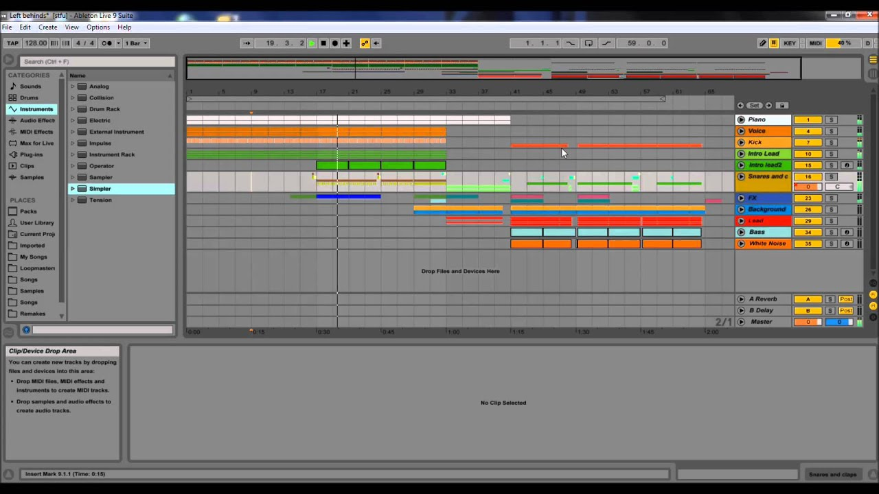 how to find plugins in ableton