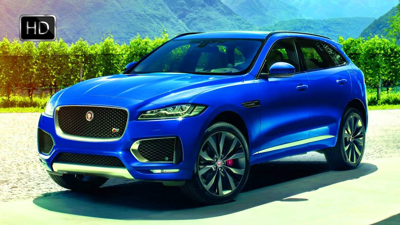 Jaguar F Pace Suv Exterior Interior Design Drive