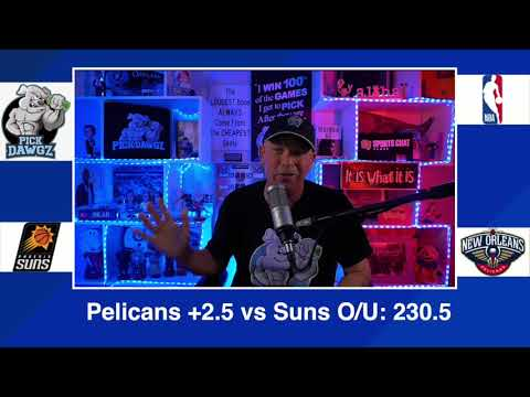 Phoenix Suns vs New Orleans Pelicans 2/19/21 Free NBA Pick and Prediction NBA Betting Tips