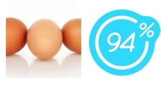 Игра 94% Картинка три яйца | Ответы на 2 уровень игры.