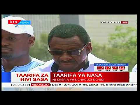James Orengo condemns Fred Mating'i for stopping the NASA demonstrations