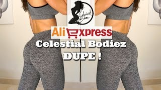 Aliexpress CELEZTIAL BODIEZ DUPE and More leggings