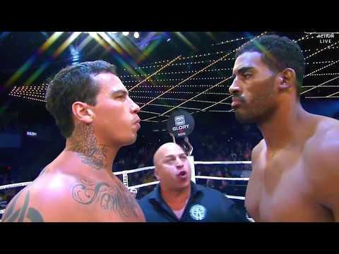 Guto Inocente Vs Adegbuyi Glory 43 New York Kickboxing - Luta completa
