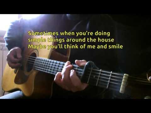 Warren Zevon - Keep Me In Your Heart KARAOKE GUITAR (B Key) REQUEST