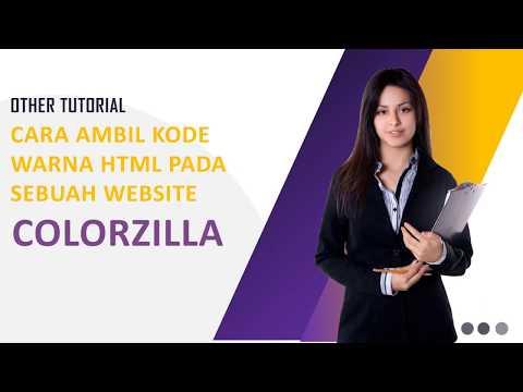Cara Mengambil Kode Warna HTML Suatu Website