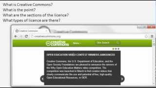 The basics of Creative Commons