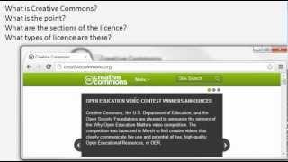 The basics of Creative Commons