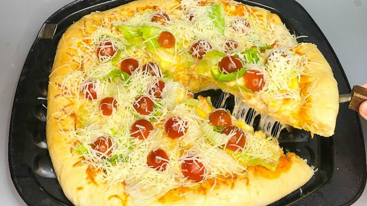 Пицца ВКУСНЕЕ Чем в РЕСТОРАНЕ! Самое вкусное тесто для ПИЦЦЫ!